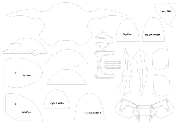 Volpin Props: Clare\'s Armor, Claymore