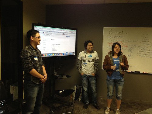 Showing off their Siri/SendGrid hack.