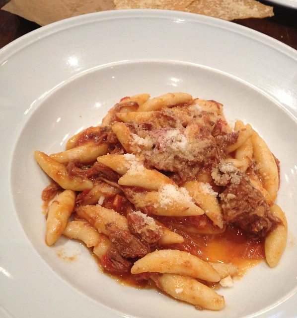 Gnocchi with Wild Boar Ragu