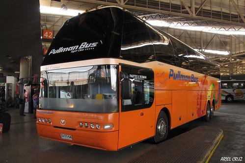 Pullman Bus | Terminal San Borja | Youngman JNP6137S Skyliner / CVFT54
