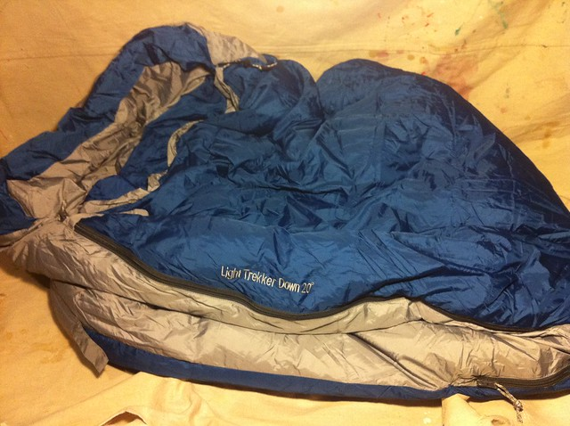 Kelty light Trekker 20* down bag