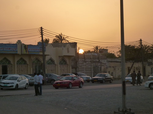 Sunset over Barka