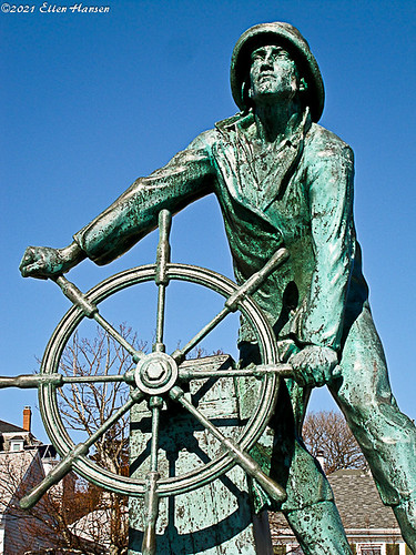 Gloucester Fisherman memorial, Gloucester, MA by Genny164