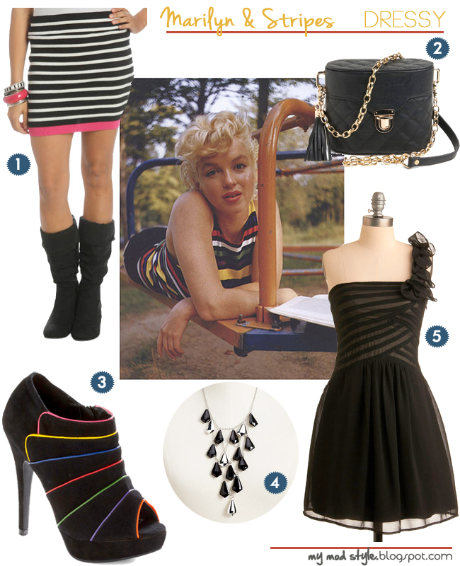 Fashion Inspiration Marilyn Stripes2