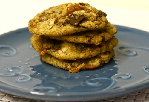 Chocolate Pecan Skor Cookies