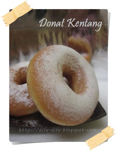 Donat Kentang by DiFa Cakes