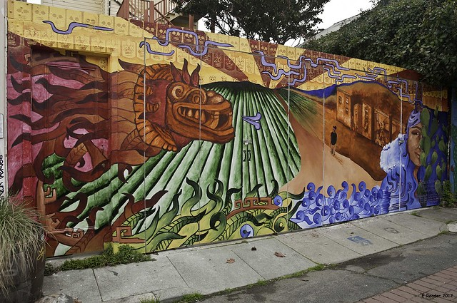 The chicano art inspired murals of balmy alley flickr for Chicano mural art