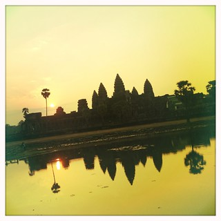Sunset @ Angkor Wat