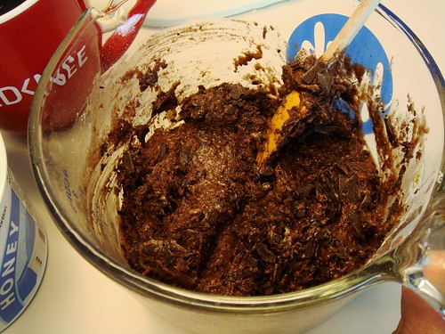 Cubicle Baking: Chocolate Bits