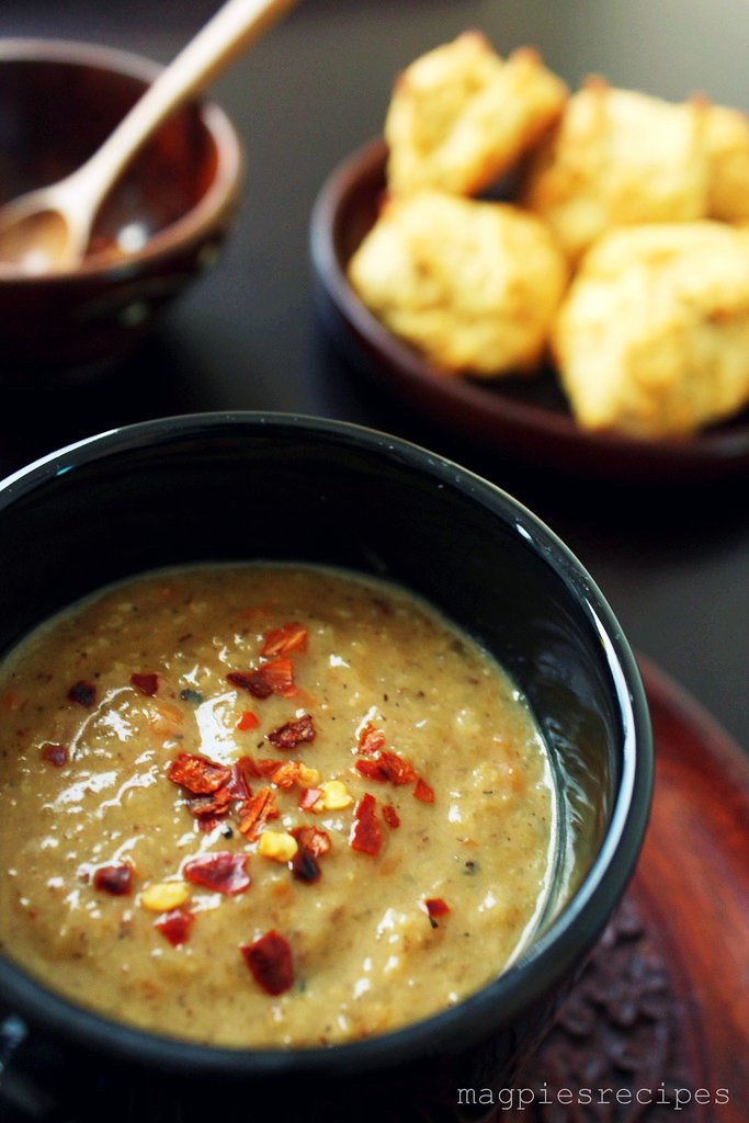 Magpie's Recipes: cumin roasted cauliflower soup- hearty ...