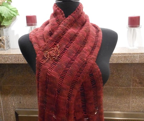 Stop & Drop scarf