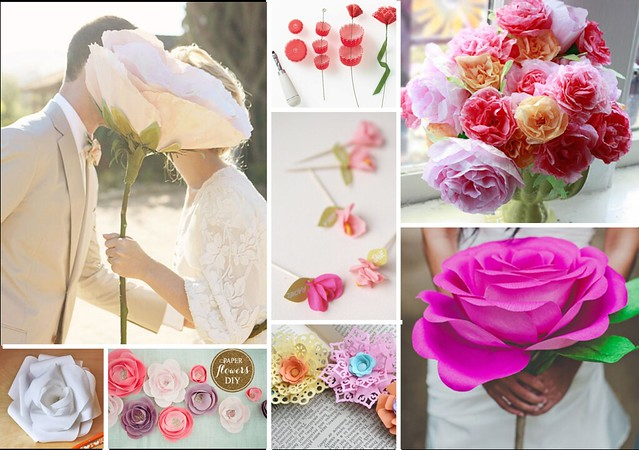paper flower roundup