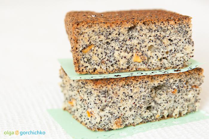 Маковый пирог на белках
