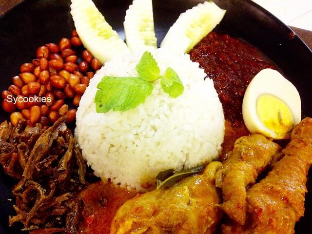 7. nasi lemak penang nyonya