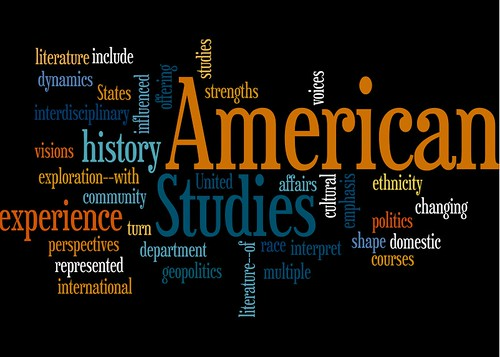 terms relating to American studies