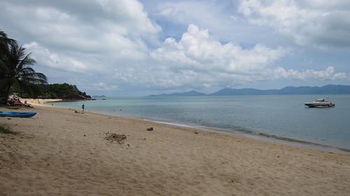 今日のサムイ島 4月17日 メナムビーチと離島行き高速船 ロンプラヤピア