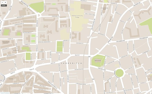 Mapbox Hoxton
