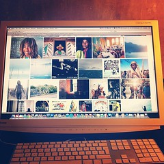 The new Flickr layout looks absolutely gorgeous on a big widescreen display. Welcome back in the game, Flickr! ;)