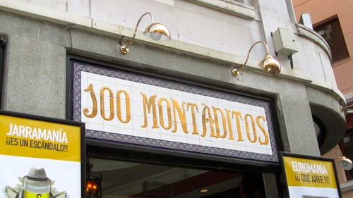 100 Montaditos: mangiare in Spagna con 1 euro