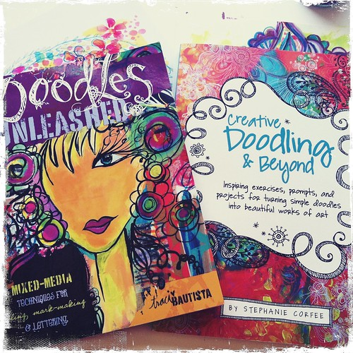 doodles unleashed & creative doodling & beyond...BFFs :)