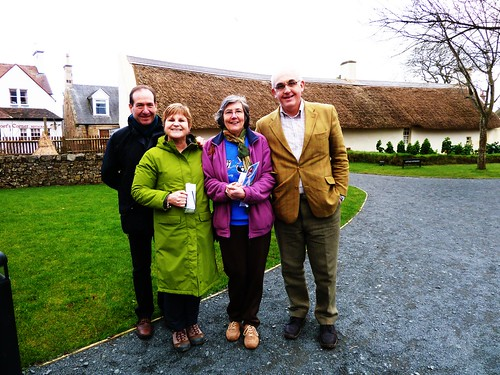 Visitor Group, Burns Cottage