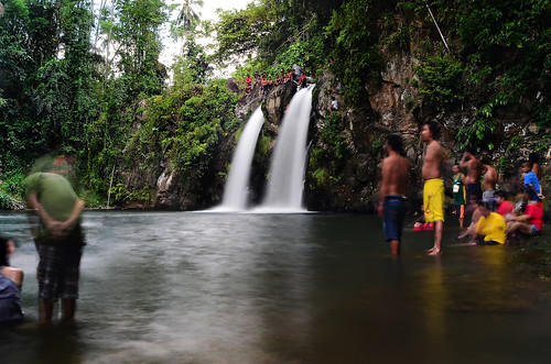 Bunga Falls Nagcarlan Laguna by jerwin lim underground cemetery anakalang festival