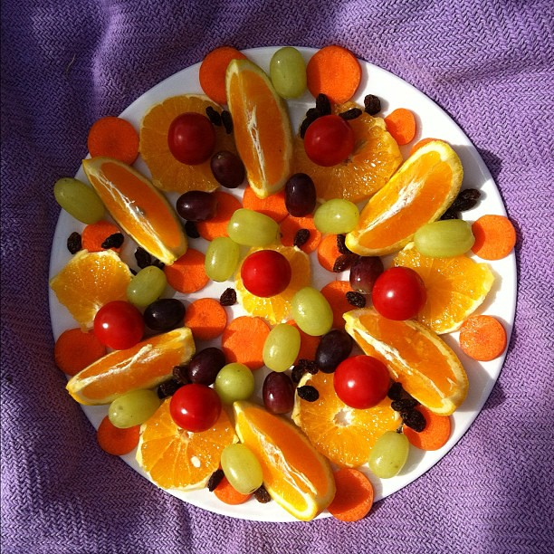 Fruit mandala #picnic #fruit #mandala