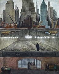 Diego Rivera,  Frozen Assets - Fondos congelados, 1931-1932.