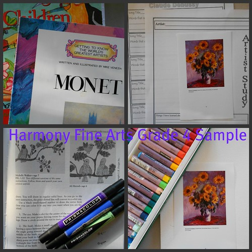 Harmony Fine Arts Grade 4 Sample