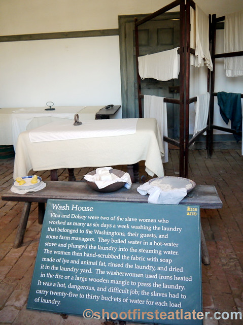 Mount Vernon- wash room