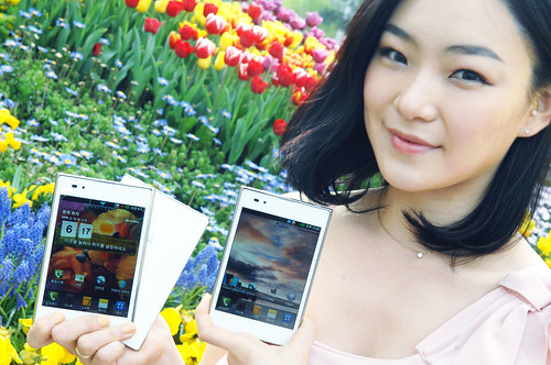 Whitewashed LG Optimus Vu Smartphone Unveiled