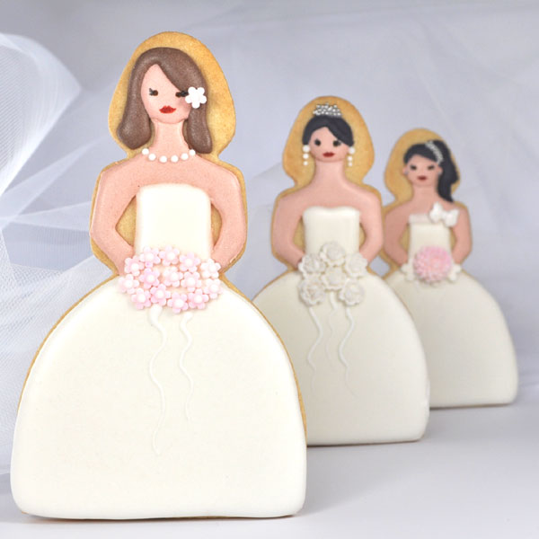 Bride Cookies - a photo on Flickriver