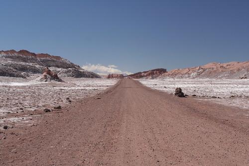 road to Valle de la Luna
