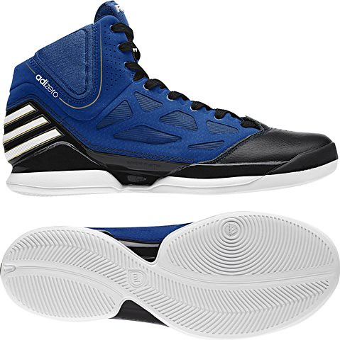 adizero blue black colorway