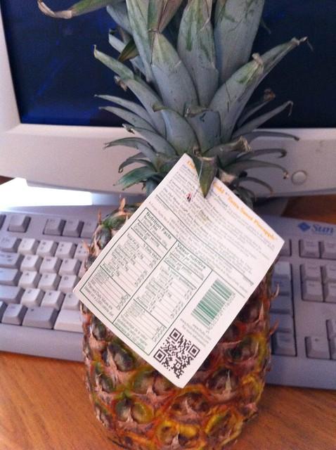Pineapple QR Code