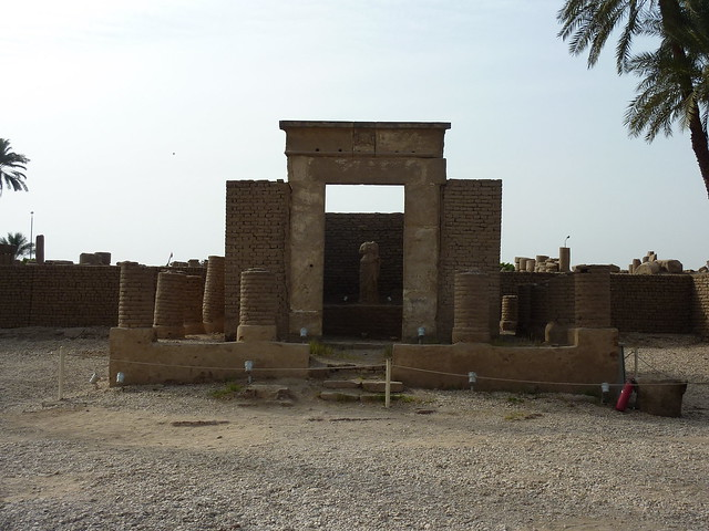 Roman temple outside Luxor temple