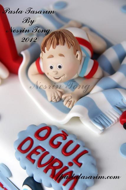 1st birthday cake - oğul devrim