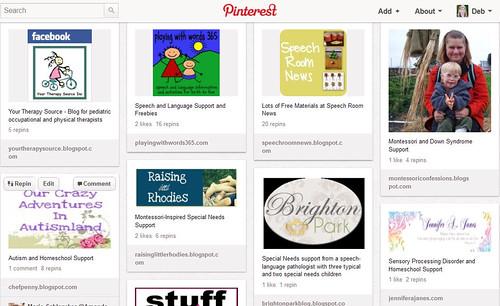 Pinterest - Special Needs