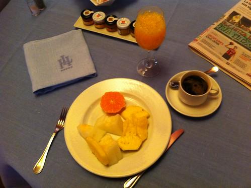 Vitoria | Gran Hotel Lakua | Primera tanda: la fruta
