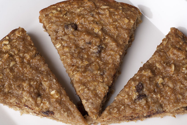 Chocolate Chip Oat Cake - The Hoot Eats