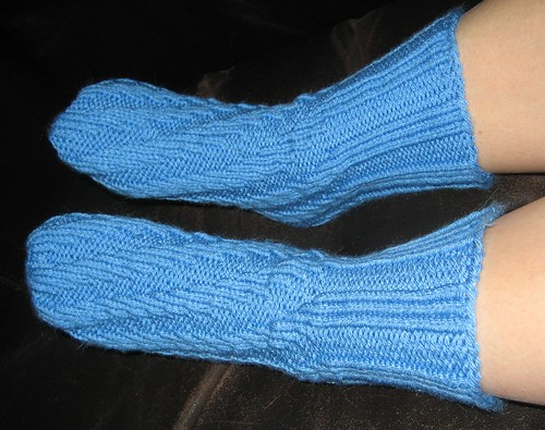 slipper sock top