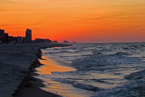Sunrise at Orange Beach