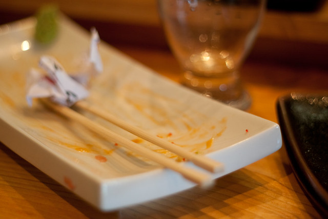 Newfound Sushi - remains of the Blow Me Down Roll