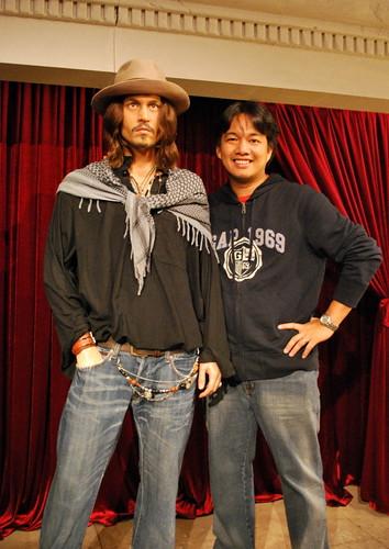 Johnny Depp Wax
