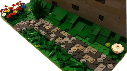 LEGO Castle Wall (2)