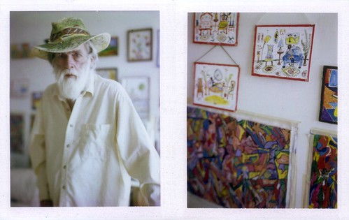 sallie lou and some of his art