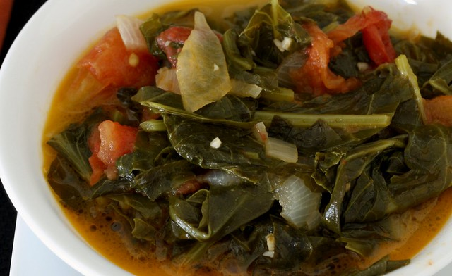 Spicy Turnip Greens