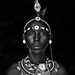 Portraits of Samburu south Horr black and white 2 (1 of 1)