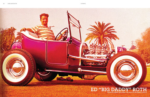 Big Daddy Roth on Juxtapoz