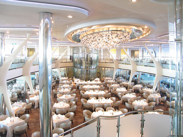 Overview of the Dining Venues on the Celebrity Solstice